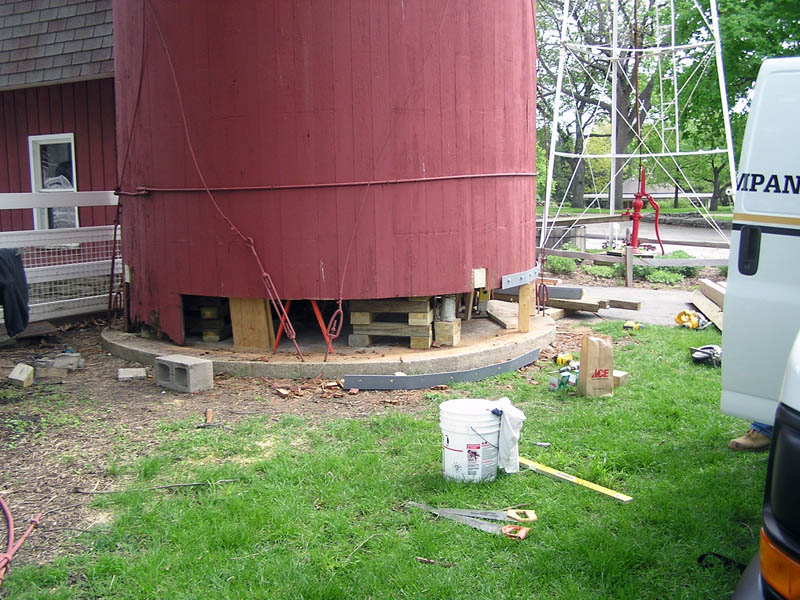 FVPD Blackberry Farms Silo Repair