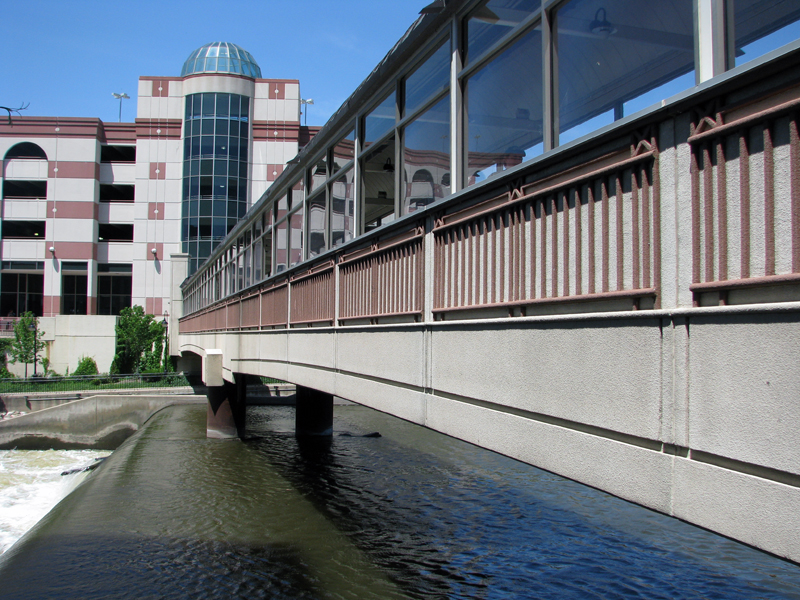 Pedestrian Bridge over Fox River