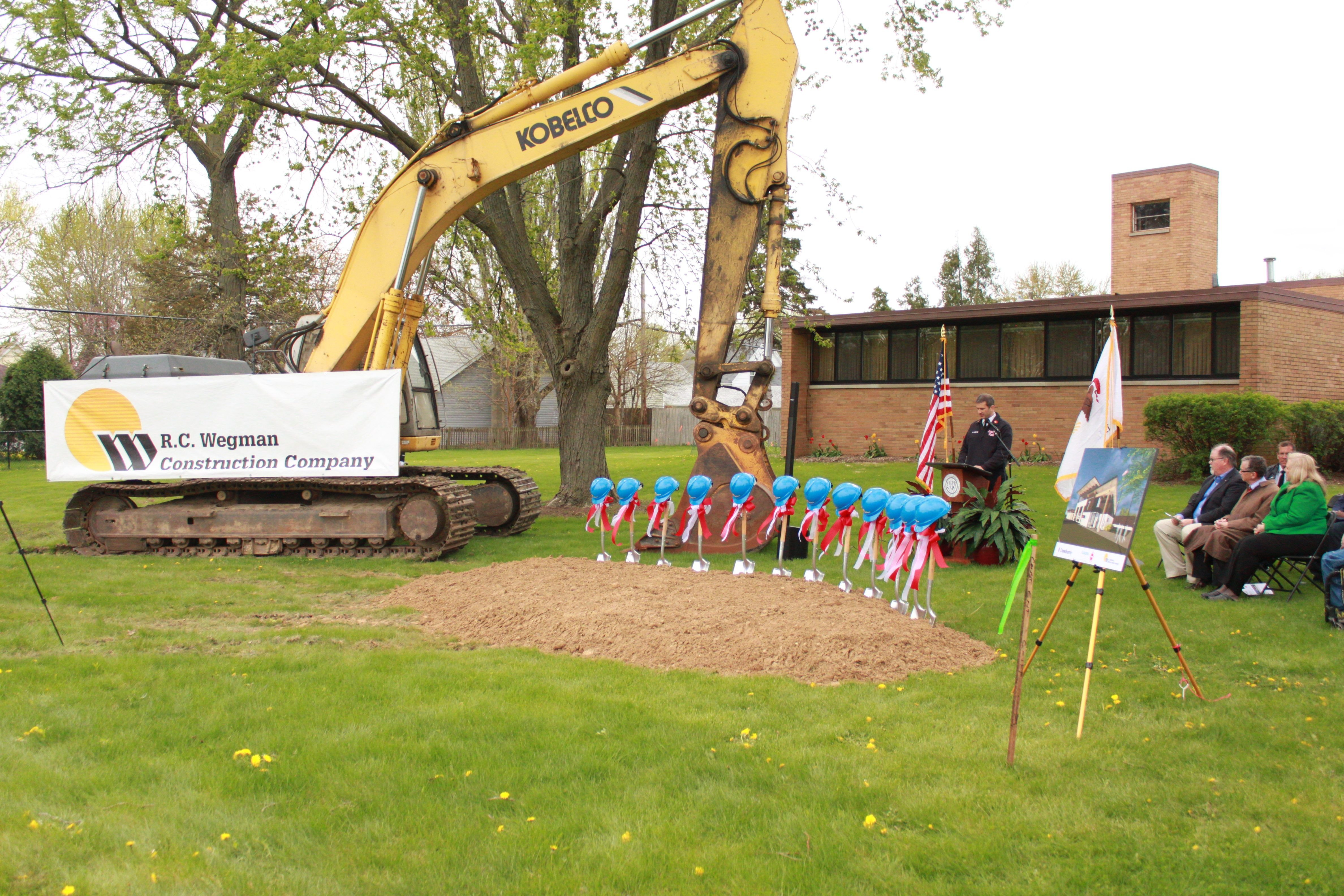 Aurora Fire Station #7 Ground Breaking