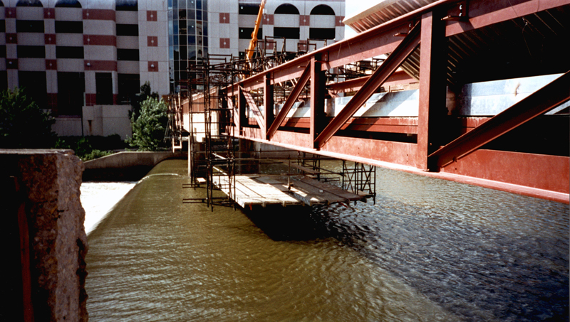 Pedestrian Bridge over Fox River