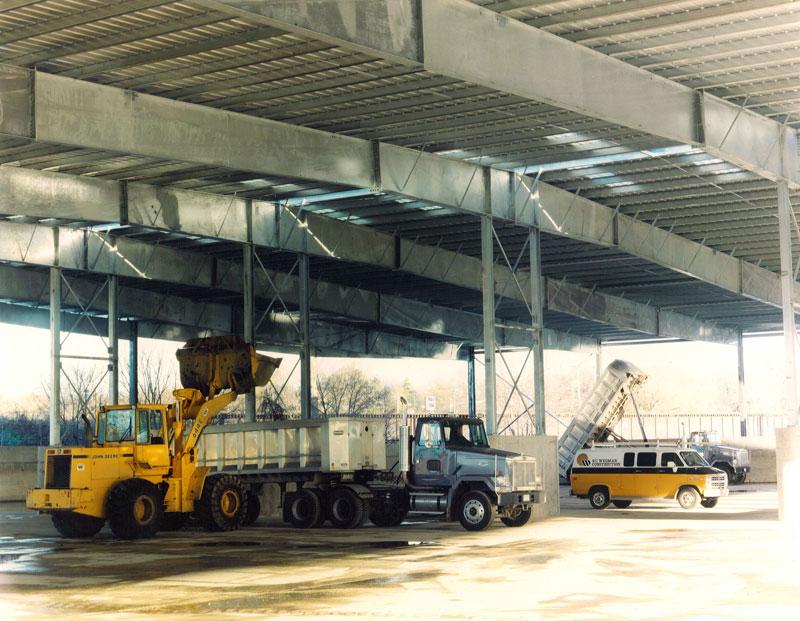 Large Sludge Storage Facility