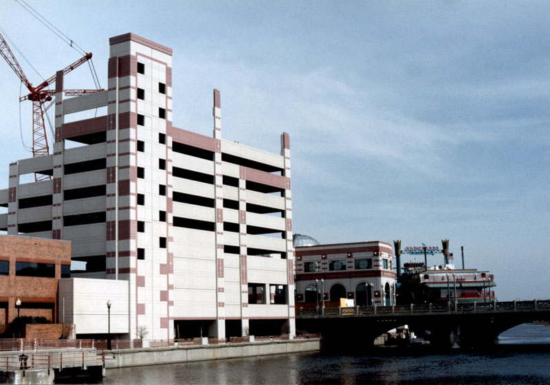 9-Story Hollywood Casino Valet Parking Deck