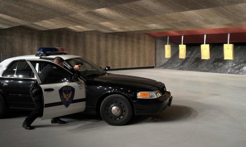 Aurora Police Station Parking Garage & TAS Building