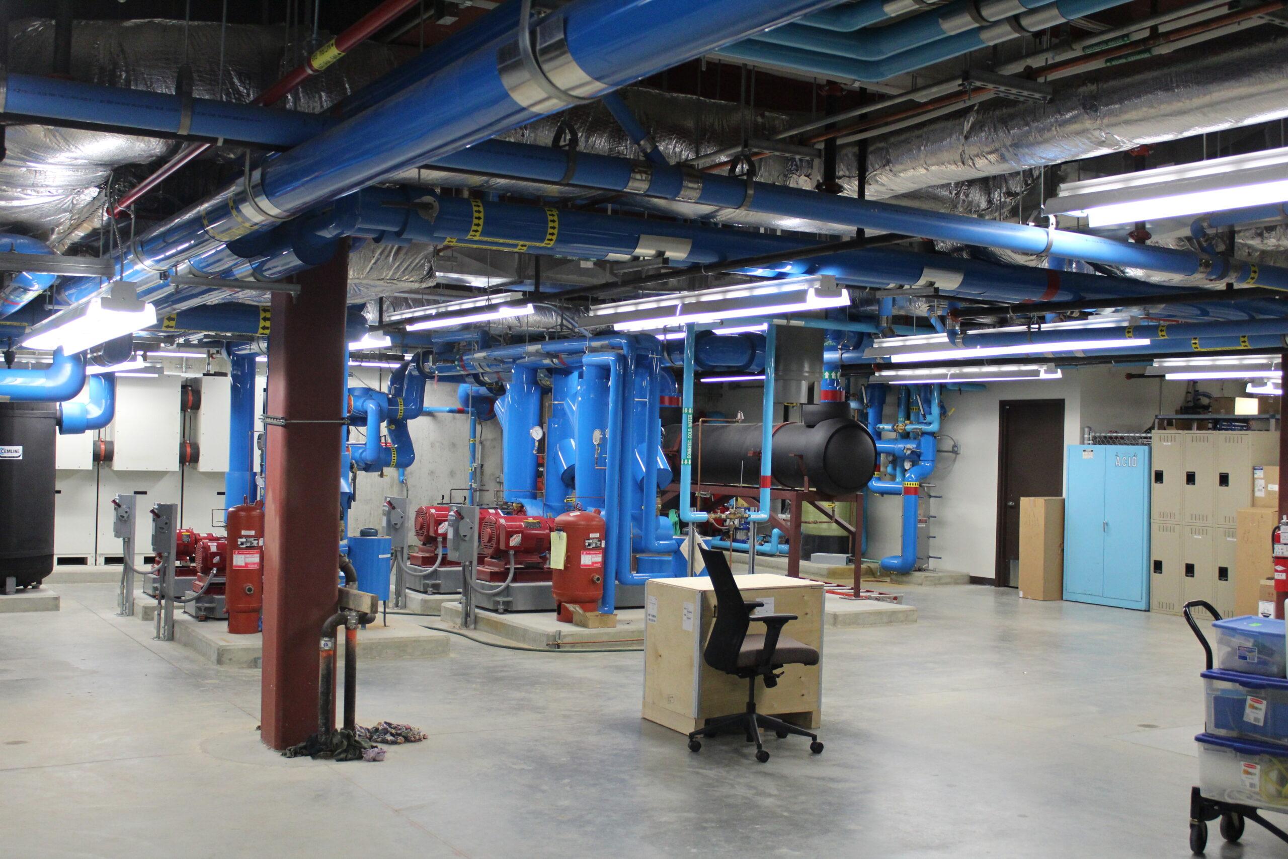 Fox Metro Water Reclamation P-3 Laboratory