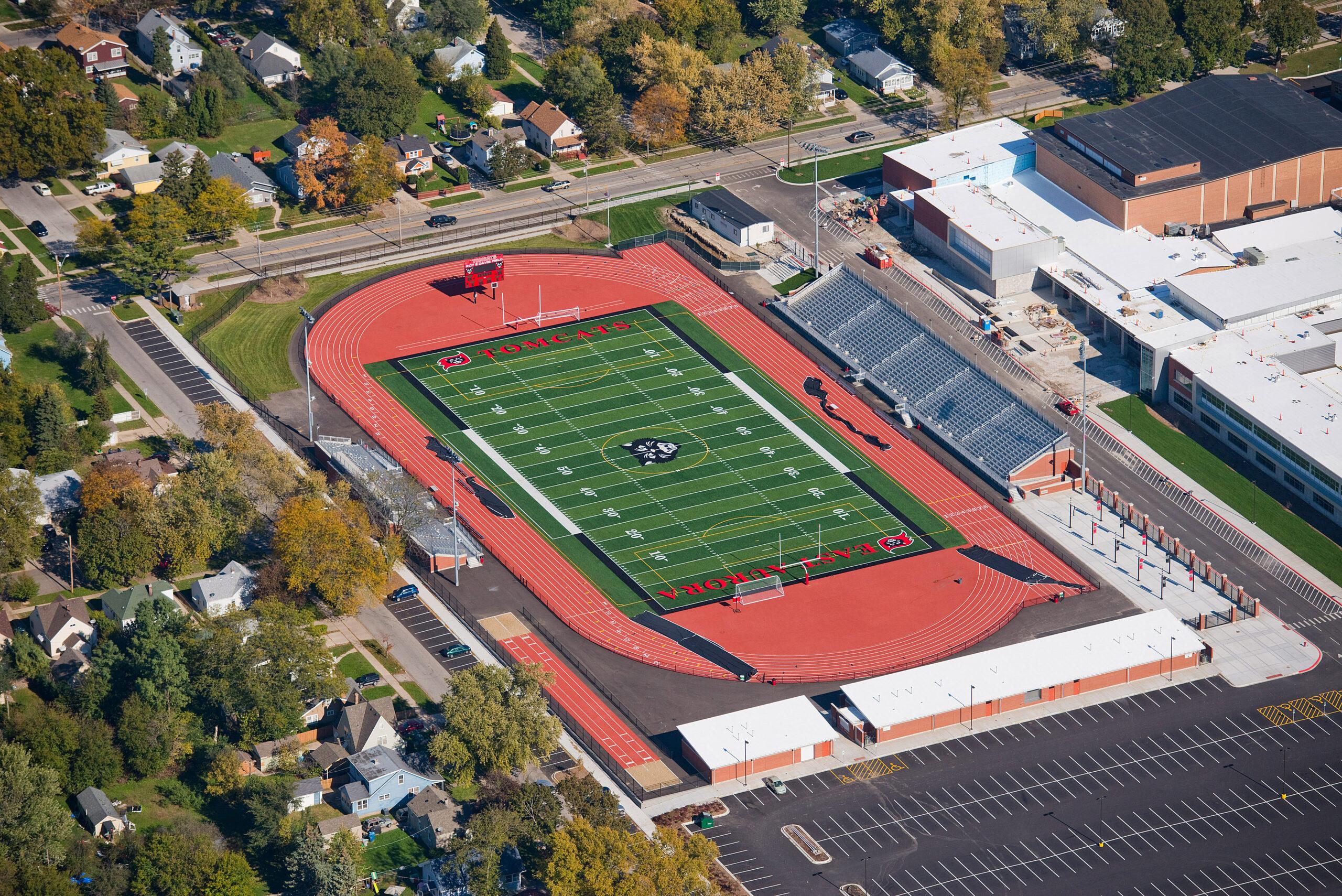 East Aurora High School Track