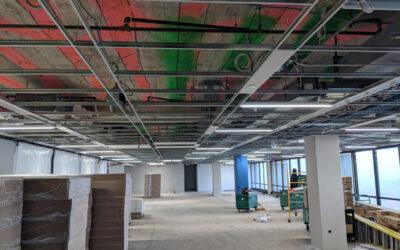 Fermilab 13th Floor Update