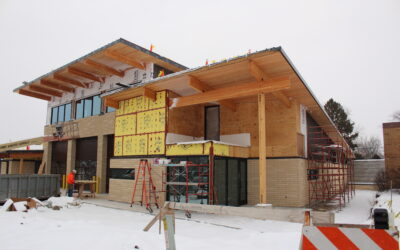 New Aurora Fire Station #7= 80% Complete