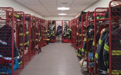 Check out the Final Interior Images of the new Aurora Fire Station #7