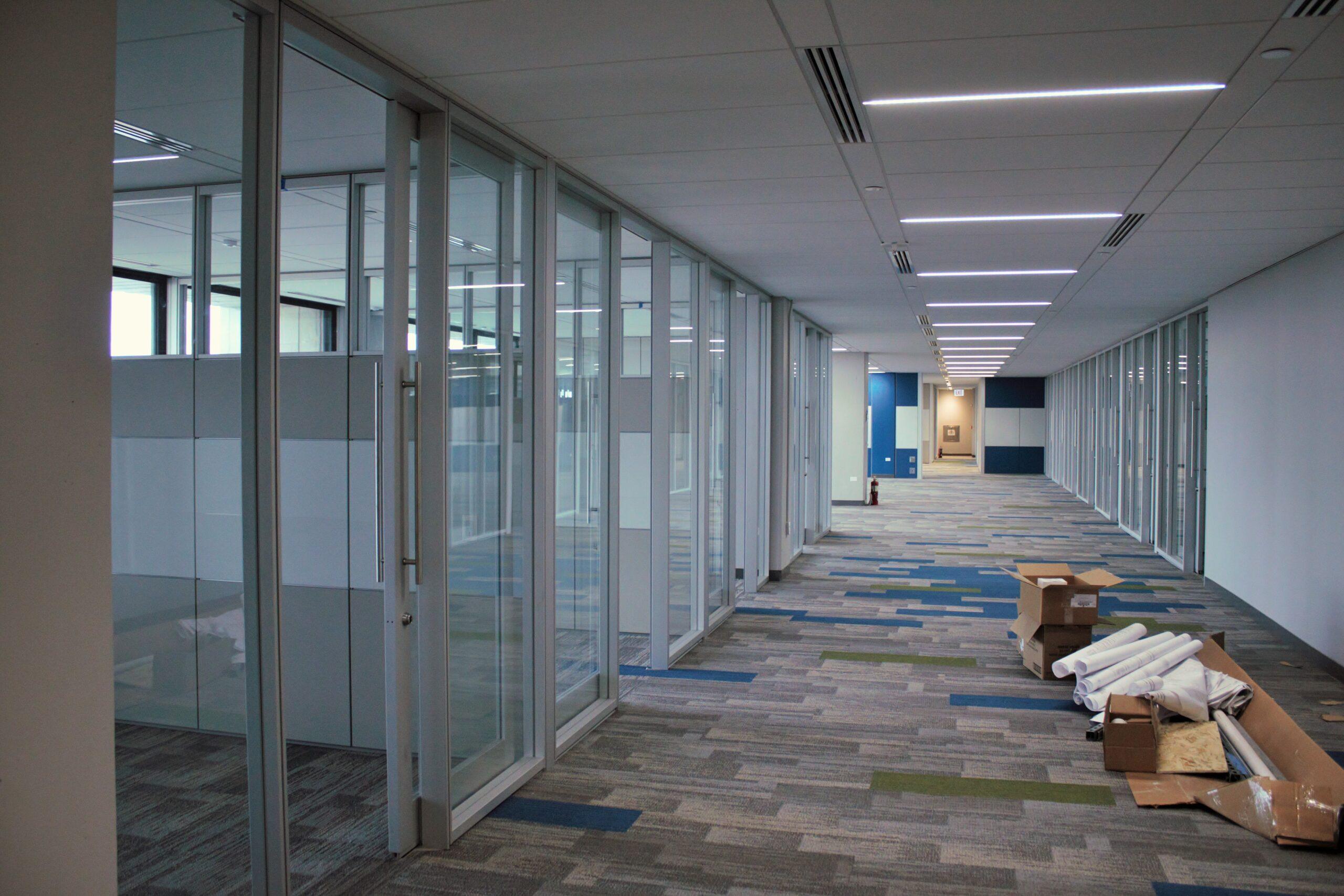 Fermilab Wilson Hall 13th Floor Remodel