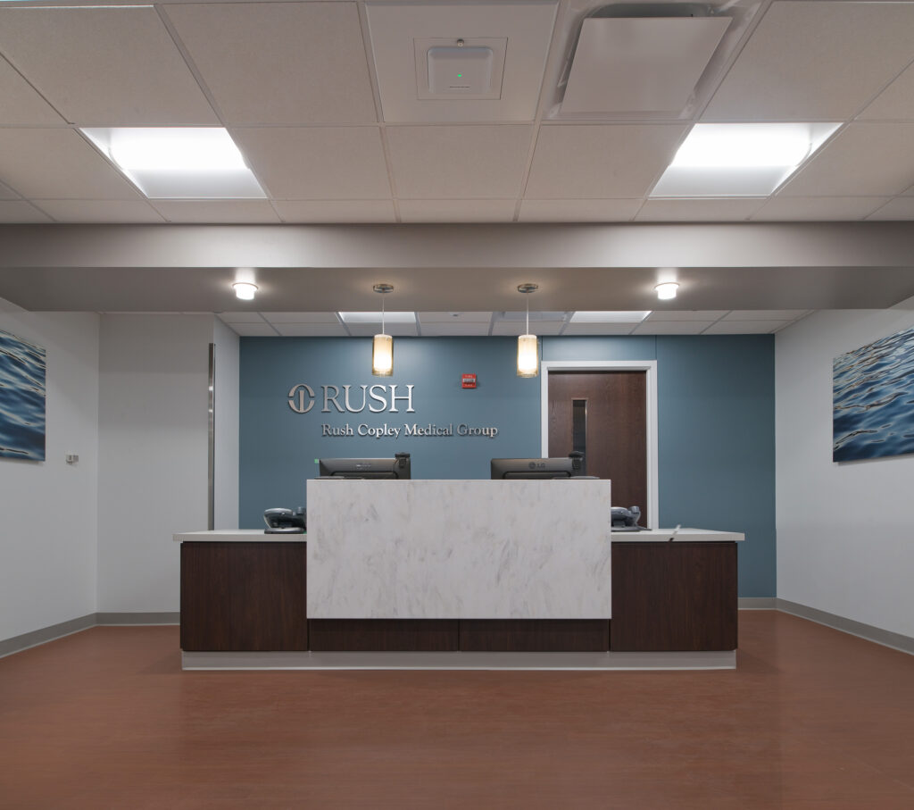 Coply Hospital Reception